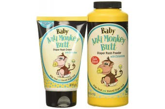 Baby Anti-Monkey Butt Nappy Rash Set