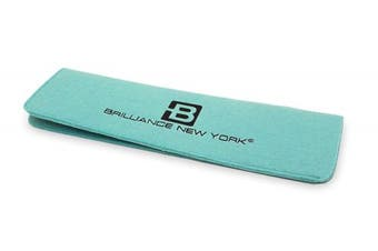 (Turquoise) - Brilliance New York - Heat Resistant Mat, Convenient Protection for Styling Tools, Turquoise