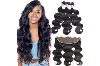 (20, deep wave 13*4 lace frontal wig) - BINF Hair Glueless Deep Wave Lace Frontal Wigs for Black Women 50cm 100% Unprocessed Wet and Wave Wigs Human Hair Lace Frontal Wigs with Baby Hair Pre Plucked 150% Density 13X4 Lace Frontal