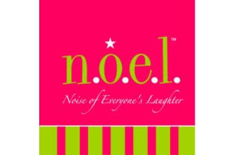 (Noise of Everyone's Laughter) - Fine Whines Paper Beverage Napkin, n.o.e.l. (Noise of Everyone's Laughter)