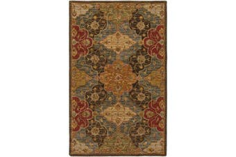 (0.6m x 0.9m) - Surya Carrington CAR-1005 Hand Tufted 100-Percent Wool Classic Accent Rug, 0.6m by 0.9m