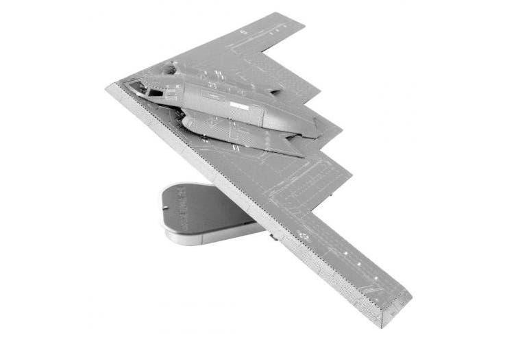 Fascinations ICONX B-2A Spirit Stealth Bomber 3D Metal Model Kit