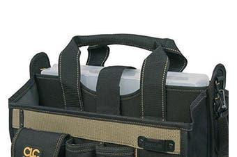 (Multi) - Custom Leathercraft 15 Pocket 41cm . Centre Tray Tool Bag