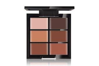 (Deep) - CCbeauty Cream Concealer Contour Palette Makeup Highlighter and Makeup Colour Face & Eye Dark Circle Corrector Kit (Deep)