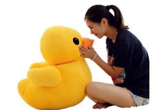 Adanina Cute Yellow Duck Stuffed Plush Pillow Animal Dolls Super Soft Huggable Toy Gift for Children