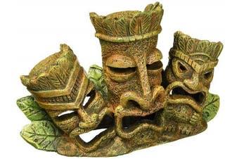 (15cm H) - Penn Plax Tiki Tribe Aquarium Ornament