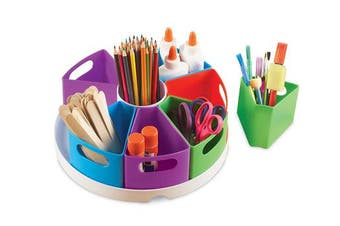 Learning Resources Create-a-Space Storage Centre, Bright Colours
