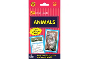 Animals Flash Cards: 54 Flash Cards