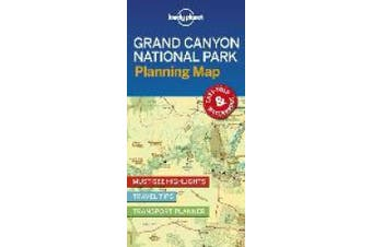 Lonely Planet Grand Canyon National Park Planning Map (Map)