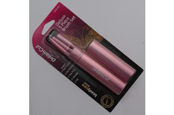 (Pink) - DreamCut 5 Piece Deluxe Makeup Brush Set (PINK)