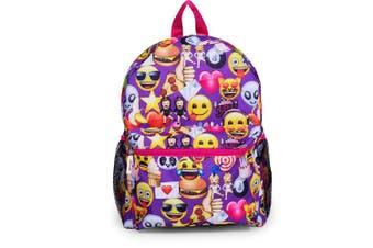 Emoji 41cm Front Pocket School Backpack - Kids