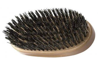 (Military Brush) - Diane Palm Brush, Extra Firm Reinforced Boar Bristles