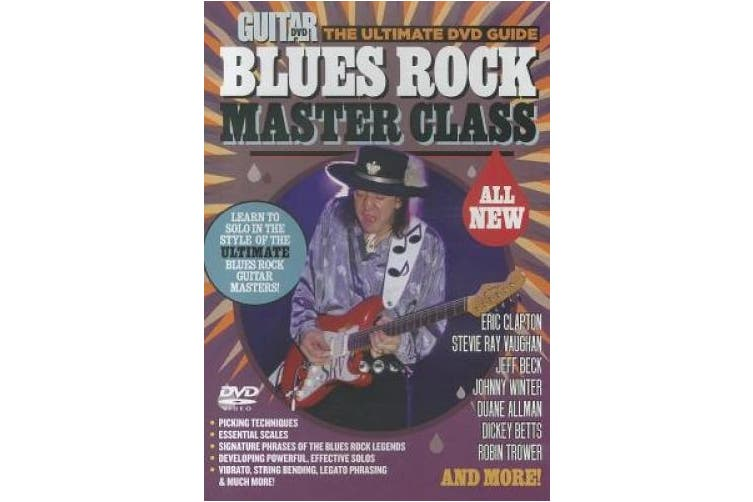 Blues Rock Master Class (Ultimate DVD Guides) [Audio]