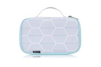 (Green) - Skycase Toiletry Bag - Portable Travel Makeup Bag Cosmetic Bag for Women/Men, Green
