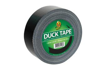 (1-Roll, 55 Yards, Black) - Duck Brand 241746 Colour Duct Tape 4.8cm x 55-Yards, 1-Roll, Black