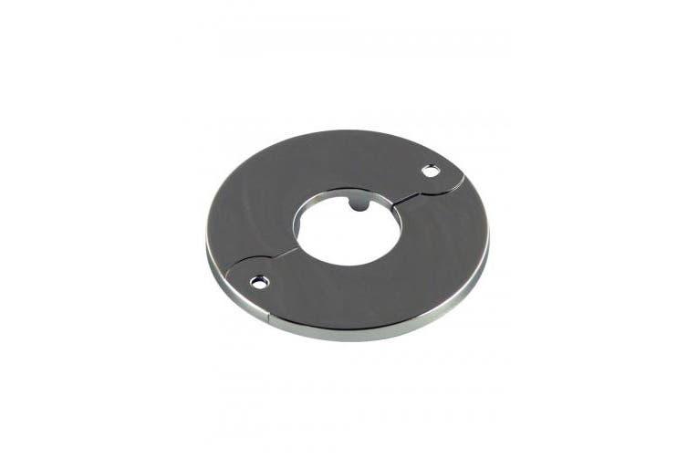 (1.3cm ) - Danco 1.3cm IPS Floor & Ceiling Plate for Ice Maker, Chrome, 88465