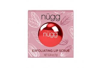 (Natural Chocolate Mint) - nügg Sugar Lip Scrub and Exfoliator; all Natural, Vegan and Cruelty-Free (Natural Chocolate Mint)