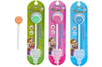 Kids Tongue Cleaner With Smiley Cover (4 Colours)