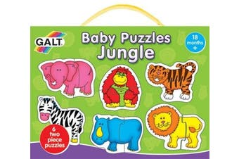 (1, Normal) - Puzzle - Baby Puzzles - JUNGLE - Galt