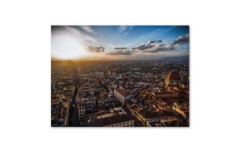 (41cm  by 60cm ) - Florence by Giuseppe Torre, 41cm by 60cm Canvas Wall Art