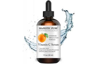 Vitamin C Serum for Face with L-ascorbic Acid - Age Defying Skin Brightening Facial Serum for Face Under Eye and Neck Areas - 30ml