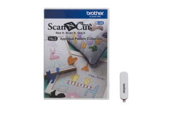 (Appliqué Pattern Collection) - Brother ScanNCut USB No. 2 Appliqué Pattern Collection