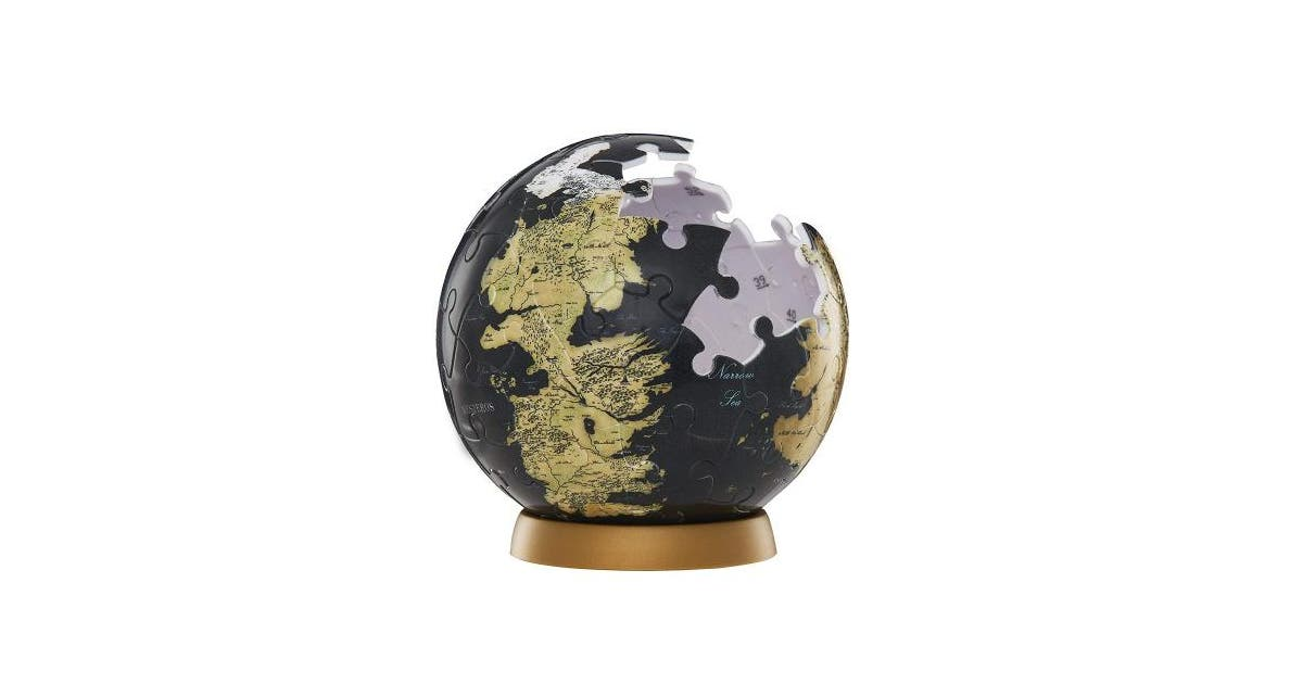 7 6cm 4d Cityscape Game Of Thrones Got 3d Westeros And Essos Globe Puzzle 7 6cm Kogan Com