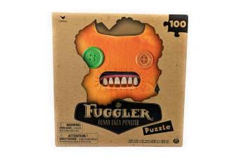 Fuggler Funny Ugly Monster Puzzle - Orange - 100 Pieces
