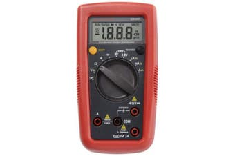 (With NIST Certificate) - Amprobe AM-500 Digital Multimeter with a NIST-Traceable Calibration Certificate with Data