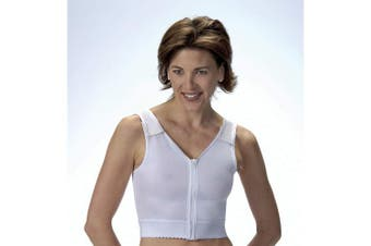 (size1) - BSN Medical/Jobst 111906 Surgical Vest without Cups, Size 1, White