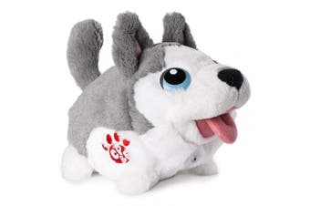 (Husky) - Chubby Puppies & Friends - Bumbling Puppies Plush - Husky