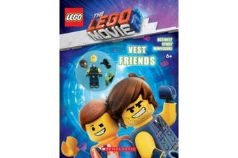 The LEGO Movie 2: Vest Friends Activity Book with Minifigure (Lego Movie 2)