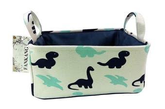 (Dinosaur) - FANKANG Rectangular Fabric Storage Bin Box Laundry Basket with Dinosaur Prints for Nursery Storage, Storage Hamper, Book Bag, Gift Baskets(Dinosaur)