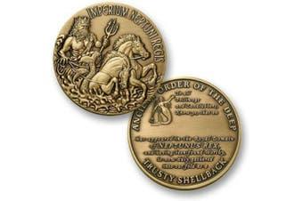 U.S. Navy Trusty Shellback Challenge Coin