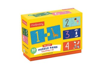 Mudpuppy Counting 1-10 My First Puzzle Pairs Puzzle (20 Piece)