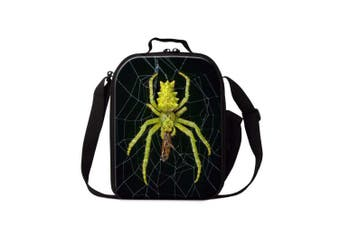 (Insect9) - Dispalang Spider Insect Print Lunch Box Bag for Children School Lunch Container
