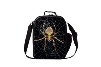 (Insect8) - Dispalang Spider Insect Print Lunch Box Bag for Children School Lunch Container