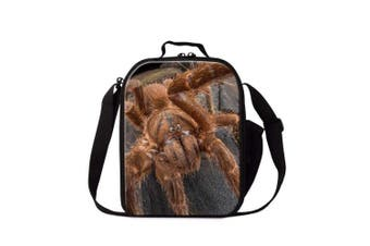 (Insect7) - Dispalang Spider Insect Print Lunch Box Bag for Children School Lunch Container
