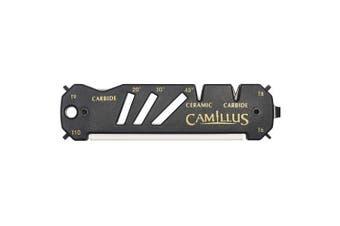 Camillus Unisex's Glide Sharpener, Black, One Size