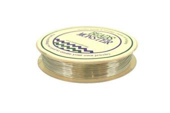 (22 Gauge, Silver) - Silver Copper Wire for DIY Jewellery Findings Beading Earrings Bracelet Necklace Making, Gauge 22, 7m/Roll