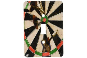 3dRose LLC lsp_85387_1 Argentina Darts and Target Game Sa01 Mme0209 Michele Molinari Single Toggle Switch