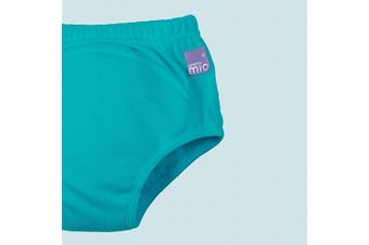 (18-24 Months, Teal) - Bambino Mio Potty Training Pants, Teal, 18-24 Months
