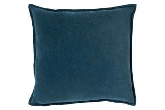(Poly Fill, 50cm  50cm , Teal) - Surya CV004-2020P Synthetic Fill Pillow, 50cm by 50cm , Teal