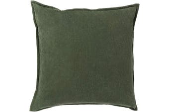 (Down Fill, 46cm  46cm , Emerald) - Surya CV008-1818D Down Fill Pillow, 46cm by 46cm , Emerald