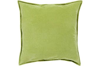 (Poly Fill, 46cm  46cm , Olive) - Surya CV001-1818P Synthetic Fill Pillow, 46cm by 46cm , Olive