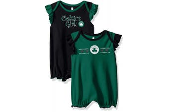 (Boston Celtics, 18 Months, Kelly Green) - NBA by Outerstuff NBA Newborn & Infant Homecoming 2pc Bodysuit Set