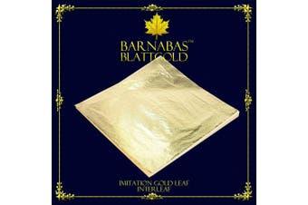 Imitation Gold Leaf 1000 Sheets, 16x16cm, Interleaved