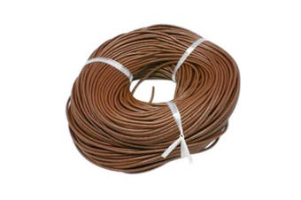 (2mm) - ARRICRAFT 10m Round Leather Cord 2mm Cowhide Jewellery Making Material for DIY Bracelet Necklace Making