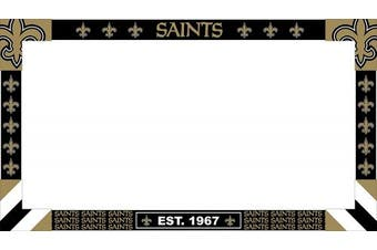 (New Orleans Saints) - Imperial Officially Licenced NFL Merchandise: Big Game Monitor Frame