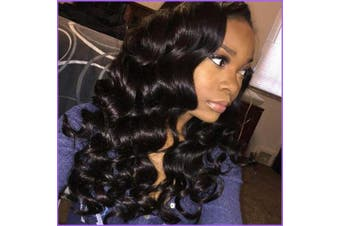 Lace Front Wigs for Women Synthetic Long Wave Black